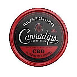 Cannadips CBD Snus American Flavour