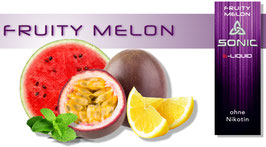 Sonic E-Liquid  Fruity Melon