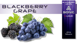Sonic E-Liquid  Blackberry Grape