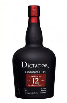Rum Dictador 12y