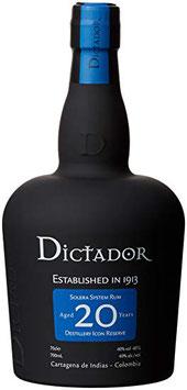 Rum Dictador 20 y