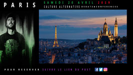 CULTURE ALTERNATIVE CONFÉRENCES ET DÉBATS RENCONTRE À PARIS LE 20 AVRIL 2019