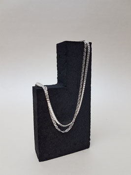 DOUBLE NECKLACE WITH TWO DIFFERENT CHAINS JK2 | STUDIO COLLECT