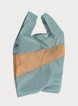SHOPPING BAG | LARGE | GREY & CAMEL | SUSAN BIJL