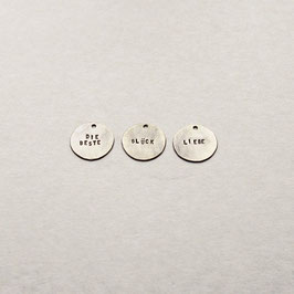 LETTERED PENDANTS | WSAKE