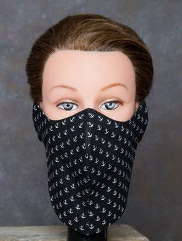 Bartmaske black pearl