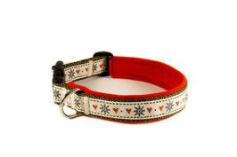 "Klickhalsband ""Xmas small"" - 2,5cm Breite"