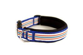 """Klickhalsband """"Stripes"""" - 2,5cm Breite"""