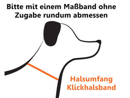 """Welpenhalsband """"Paws"""", Breite: 25mm"""