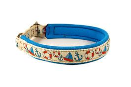 """Klickhalsband """"Ahoi"""" - 2,5cm Breite"""