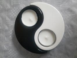 "Teelichthalter ""Yin & Yang"""