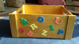 """Holz-Aufbewahrungsbox """"A-Z"""""""