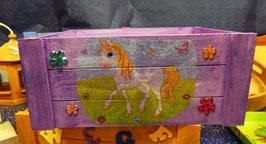 """Holz-Aufbewahrungsbox """"Pferd"""""""