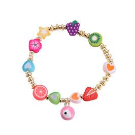 """Armband """"Kiwi & Strawberry"""""""