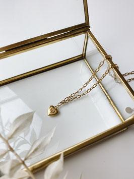 "Halskette ""Heart"" gold"