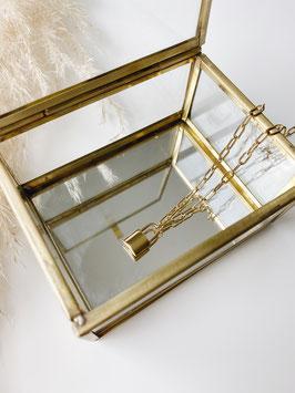 """Halskette """"golden lock"""""""