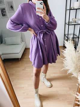 "Muslin dress ""violet"""