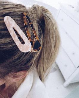 Trendige Haarspangen