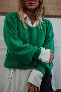 "Basic Pullover ""green"""