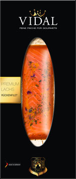 """Räucherlachs-Rückenfilet """"Kräuter"""", Packung ca. 200 g"""