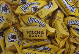 Kuhbonbon, Milch und Honig