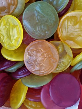Frucht- gummi Köpfe