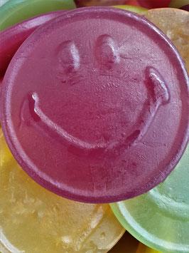 Fruchtgummi-Gesichter, groß
