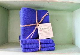 Solwang Wischtuch 3er-Pack blau