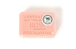 Rose mit Geranium Rosenöl