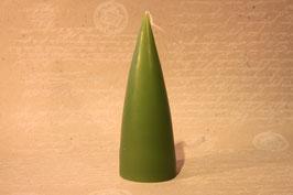Kerze Olivgrün