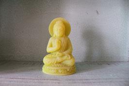 Meditierender Buddha Neongrün mit Shea-Butter