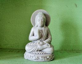 Meditierender Buddha mit Shea-Butter