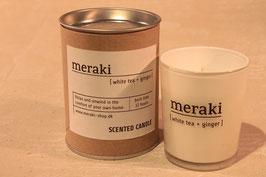 Duftkerze - weißer Tee & Ingwer