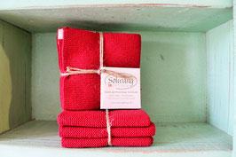 Solwang Wischtuch 3er-Set rot