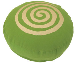 """Spirale"" kiwi Meditationskissen Gr. S"