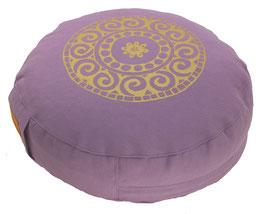 """""""Mandala"""" flieder Meditationskissen Gr. S"""