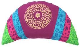 """Rotviolett - Mandala"" Minimond Luxus"