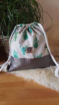 """Turnbeutel """"Kaktus"""""""