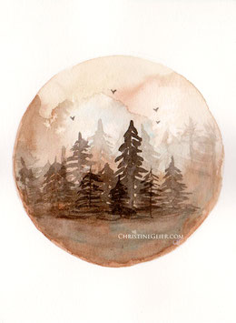 Waldwelt braun