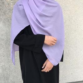 Hijab crepe maxi violet