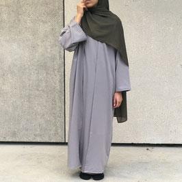 Abaya kimono grise