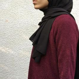 Hijab maxi crepe