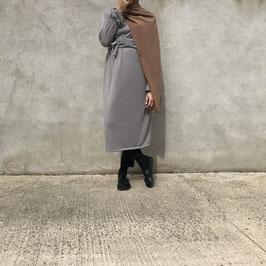 Tunique à ceinture grise