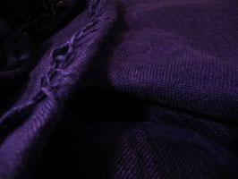 色泥染・うるわしストールwide 妃紫色(ひむらさきいろ)