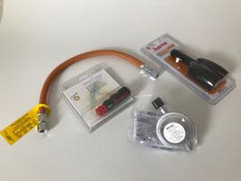 Anschlussset Strom/Gas