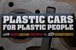 Aufkleber Plastic People