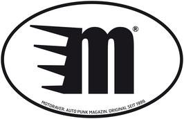 Aufkleber Kennzeichen M