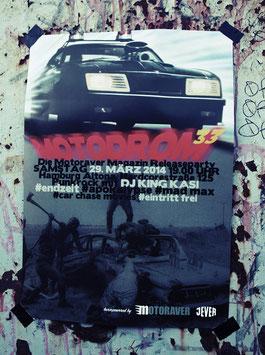 Poster Motodrom 33