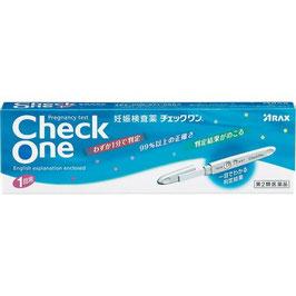 チェックワン 1回用【第2類医薬品】