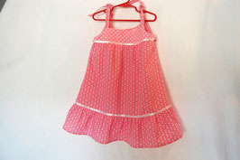 Handcrafted  - Sailor Dress - Pink - for Girls 4 (four) YEARS